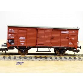 FLEISCHMANN  83 5801 K, wagon couvert  type G   DR  neuf  BO