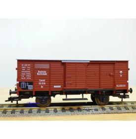 FLEISCHMANN  85 5866 K, wagon couvert  type Gn   DR  neuf  BO