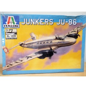 ITALERI 1029,  avion de transport allemand JUNKER JU-86  BO Neuf 1/72