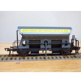Fleischmann 5511 wagon trémie fonctionnel ALKAG  SBB BO