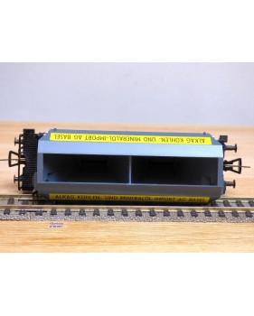 Fleischmann 1486 S, wagon trémie fonctionnel ALKAG  SBB  neuf  BO