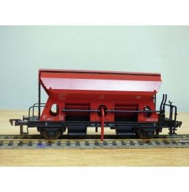 Fleischmann 1486,  wagon trémie à déchargement latéral fonctionnel  type Ktmms 65   DB   neuf   BO