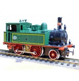Electrotren 4003, locotender 120 MZA N° 179   BO