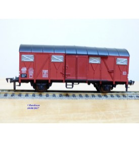 FLEISCHMANN 1470, wagon couvert  type Gmhs 53  DB   neuf   BO