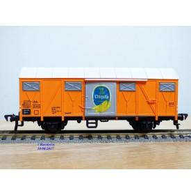 FLEISCHMANN 1470 G, wagon couvert  type Gmhs 53  Chiquita  DB   neuf   BO