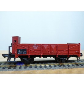 FLEISCHMANN 1485,  wagon tombereau à guérite  type O 20    DB   neuf   BO