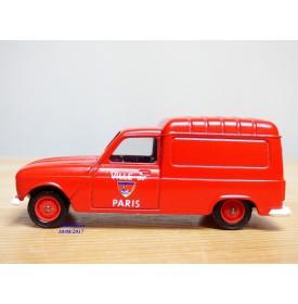 SOLIDO vrai 42,  RENAULT fourgonette   Pompiers de Paris  Neuve  BO