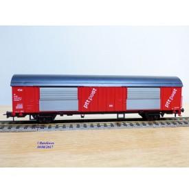 Roco 46275,  wagon couvert  type Hbbkkss 1980  POST   NS    neuf   BO