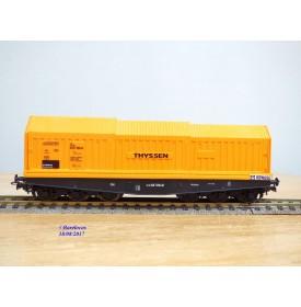 LILIPUT  222 00 , wagon à toit télescopique à 6 essieux  THYSSEN    DB   neuf  BO
