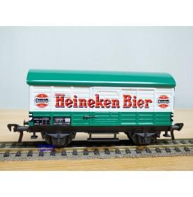 FLEISCHMANN 5026, wagon couvert  transport de bière   HEINEKEN BIER  NS   neuf  BO