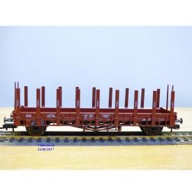 FLEISCHMANN  5226 K,  wagon plat à ranchers    DR  neuf  BO