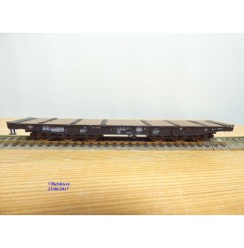 ROCO 46550,  wagon plat à ranchers pour charges lourdes type Samms 710   DB   BO