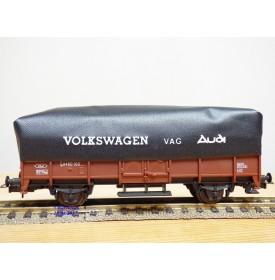 LIMA véro  303178,  wagon plat   type L bâché Volkswagen  FS   neuf    BO