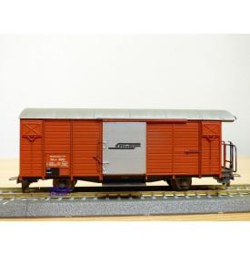 BEMO 2256 191, wagon atelier ( Kabelbauwagen )   N° Xk-v  9091   Rhb   BO