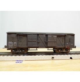 VB  50,  wagon couvert  à 2 bogies type Kyw  PLM