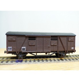 SMCF ???, wagon couvert  à 2 essieux  type  K    SNCF  BO