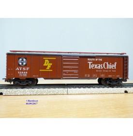 Märklin   4572, wagon couvert ( boxcar ) Texas Chief  SANTA FE
