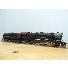 Rivarossi  véro 1536  5099/02,  locomotive 2 10 2 ( 151 ) class S1 Baltimore & Ohio  neuf  BO