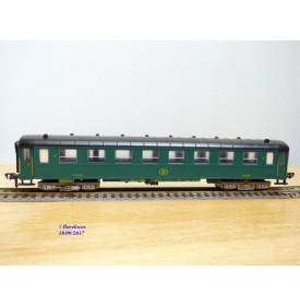 FLEISCHMANN 1521, voiture  grandes lignes   2 Cl.  SNCB  neuf   BO