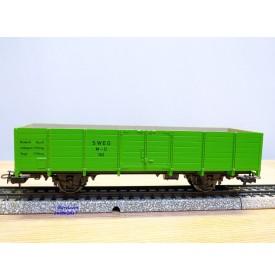 MÄRKLIN MINEX 4451, wagon tombereau vert SWEG BO