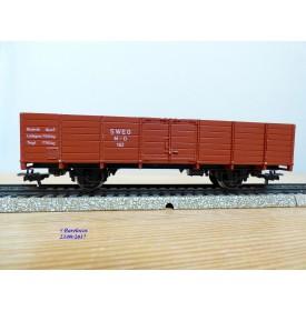 MÄRKLIN MINEX 4450, wagon tombereau SWEG BO