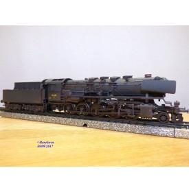 MÄRKLIN Digital  37834, loco Decapod  série  N  DSB  N°: 205     neuf   BO