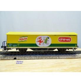 Märklin 4735,933  / 9975,  wagon couvert  type Hbils  KNORR   CHIRAT SBB  neuf   BO