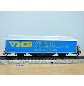 Märklin 4735,936  / 99004,  wagon couvert  type Hbis-vxy VEREINIGTE MINERALWASSER AG  SBB   neuf   BO