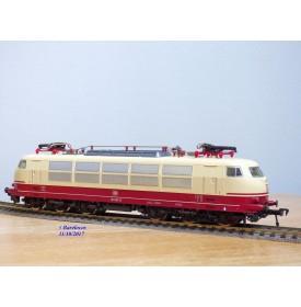 FLEISCHMANN  4376,  loco électrique Co Co Br 103    TEE    DB    neuf  BO