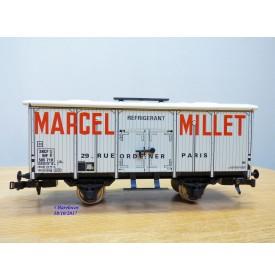 ETS  486, wagon reéfrigérant  MARCEL MILLET   SNCF  neuf  BO