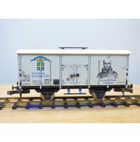ETS  480, wagon réfrigérant type HI  CHALONS  EN CHAMPAGNE   NICOLAS APPERT  SNCF  neuf  BO