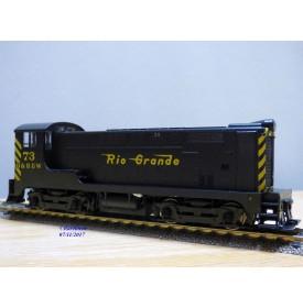 STEWART HOBBIES 4629, loco diesel de manoeuvre ( switcher )  BoBo  Baldwin VO-660  Phase 1  N° : 73  D&RGW  Neuf   BO