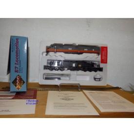 Life Like PROTO 2000  21115, loco EMD E7   N°: 18A    MILWAUKEE    neuf  BO