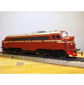 "MÄRKLIN  3143, locomotive diesel A1A A1A  ""Nohab"" série Di3  N°: 3.605   NSB    BO"