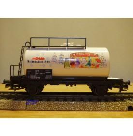 Märklin 94045, wagon citerne  unifié Weihnachten  1998  neuf  BO  BO