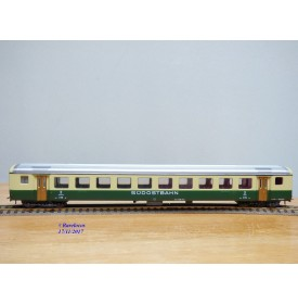ROCO 4239 C / 44328,  voiture grandes lignes 2 Kl. type B  Süd Ost Bahn SOB  neuf   BO