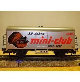 Märklin  97731 / 4415,  wagon couvert réfrigérant 25 Jahre Mini-Club   neuf  BO