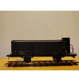 BLZ / GMP ???, wagon tombereau à guérite   à  2 essieux  SNCF