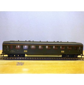 HORNBY acHO 734, voiture dite Forestier 1 Cl. SNCF   BO