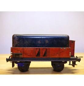 TRIX EXPRESS  20 / 76, wagon tombereau à guérite