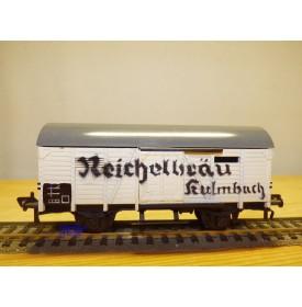 FLEISCHMANN 1461-2, wagon couvert  KULMBACHER REICHELBRÄU   DB   neuf   BO