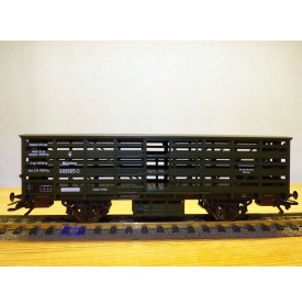 TRIX   23989, wagon couvert ancien  pour transport de volaille   K.B.Sts.B.    neuf     BO