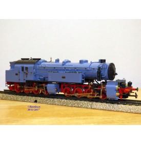 Rivarossi 1025,  locotender 040 + 040  T  Gt 4/4*2  K.B.Sts.B. N°: 5773  bleu pâle   DR   BO