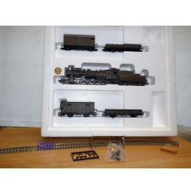 Liliput  852, train militaire Loco Decapod 150 Br 52 369 et 4 wagons  DRG   BO