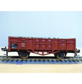 FLEISCHMANN 1455 S,  wagon tombereau chargé de ballast   DB   neuf   BO