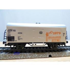 Märklin 79703 / 4415,  rare wagon couvert réfrigérant type Ichqrs 377 DB  MEA  CALF.FLA.CHAPTERS  1979 Neuf  BO