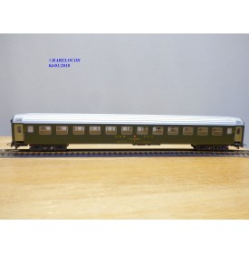 LILIPUT  282, voiture grandes lignes unifiée type X  2 Kl.  SBB   BO