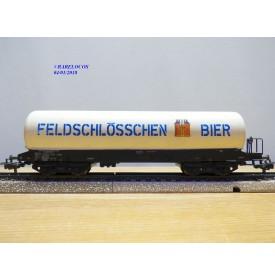 Märklin  4632,  wagon citerne à bière FELDSCHLÖSSCHEN  SBB   BO