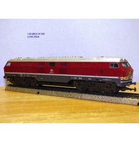 RIVAROSSI  véro ( pour Märklin )  1099, loco diesel Co Co  Br 320  DB  neuf   BO