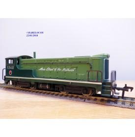 FLEISCHMANN 1340 G, loco diesel Baldwin verte Northern Pacific   1340